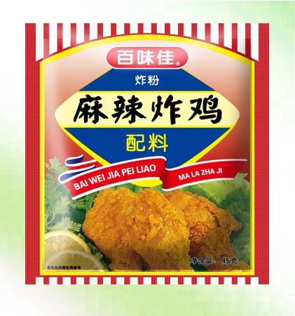 百味佳麻辣炸鸡配料
