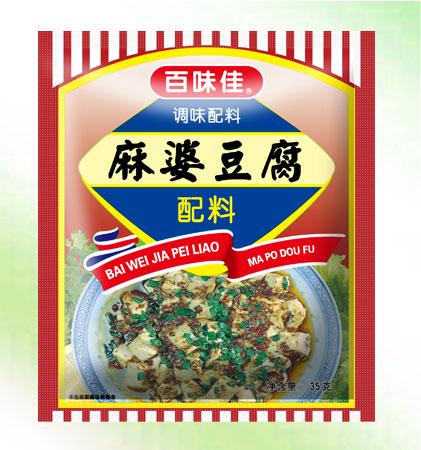 百味佳麻婆豆腐配料